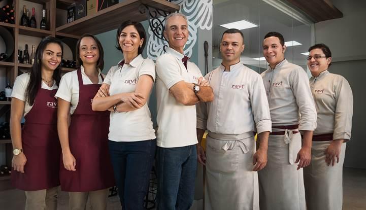 Equipe Ravi Congelados Gourmet
